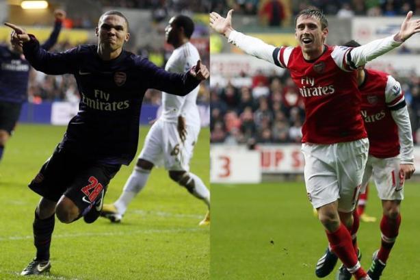 Nacho & Gibbs (courtesy of MSN Sport).