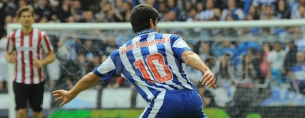 A number synonymous with a creative player but can Juan Dominguez be Depor's creator? (image courtesy of riazor.org)